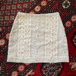For Love And Lemons Lace Skirt